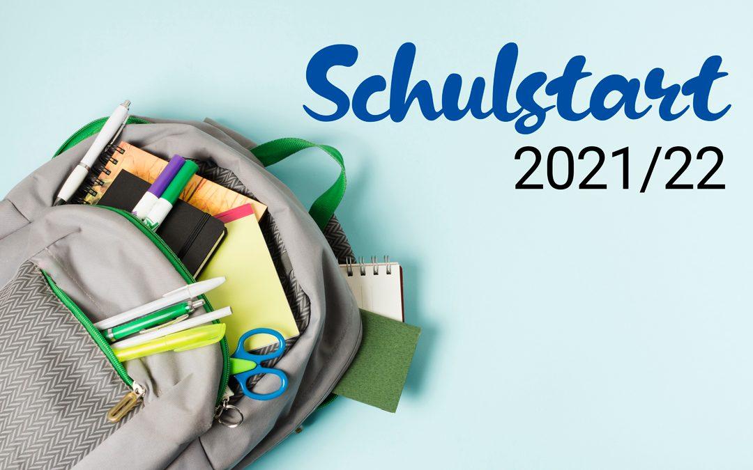 Infos zum Schulstart (Schulbetrieb)